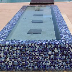 rectangular fountain