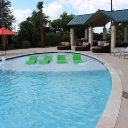 Hot Tub in Pool