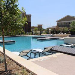apartment pool in texas